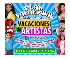 Plan Vacacional en Maracay 2016