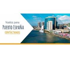 Vuelos a Santo Domingo, Panamá y Puerto España Bs.55.000