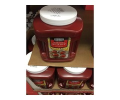 mayonesa mostaza y salsa de tomate importado