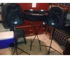 remato equipo de sonido