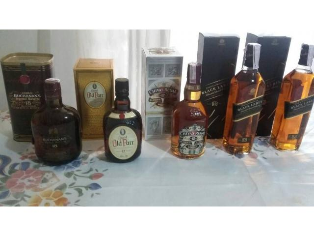 Whisky escoces original de 12 y 18 - 1/5