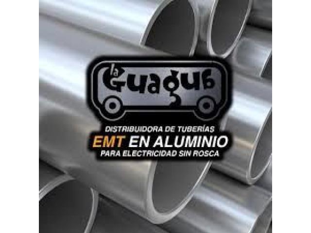 Tubos Emt Para Electricidad De Aluminio 3/4 - 1/1