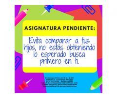 Psicóloga Clínica Naelme L. Gonzalez M. F.P.V: 8001, ATENCIÓN PSICOLÓGICA INTEGRAL
