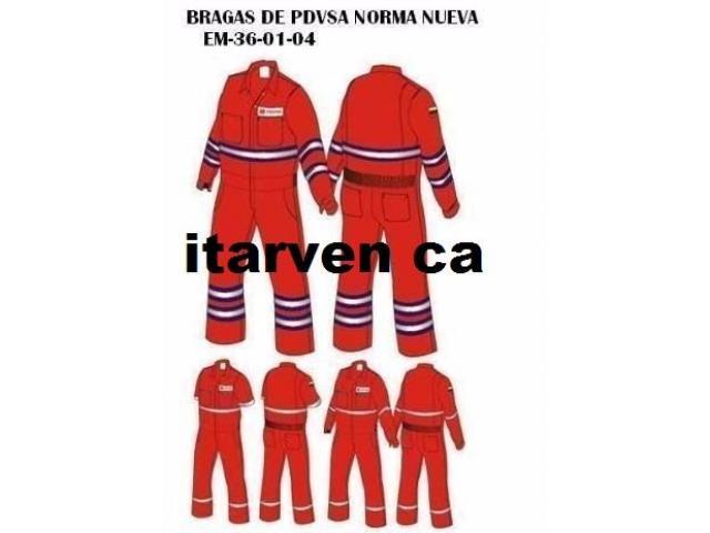 Braga Ignifuga Petrolera Fabrica de uniformes - 1/5
