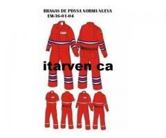Braga Ignifuga Petrolera Fabrica de uniformes
