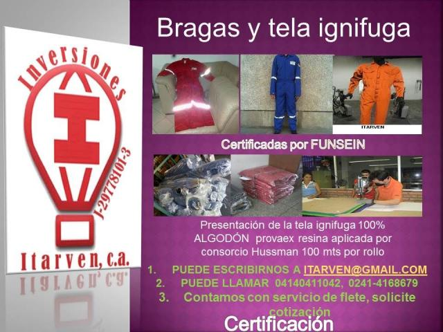 Braga Ignifuga Petrolera Fabrica de uniformes - 2/5