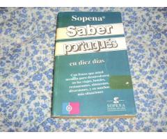 SOPENA Saber Portuguès en 10 días.