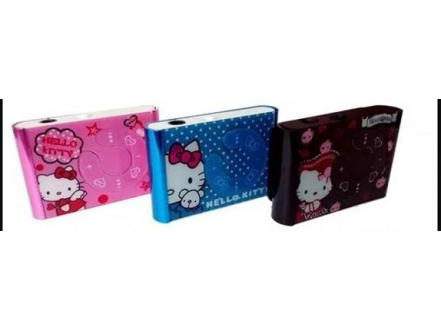 Reproductor Música Mp3 Lector Microsd Hello Kitty - 1/2