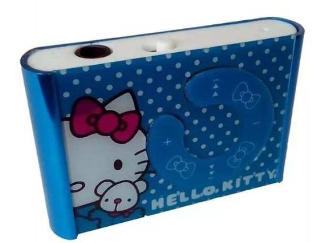 Reproductor Música Mp3 Lector Microsd Hello Kitty - 2/2