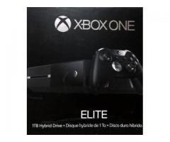 xbox one elite 1 tb + control adicional + dos juegos, todo nuevo
