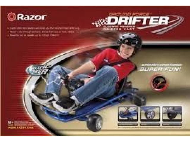 carro electrico karting razor driftter nuevo - 1/4
