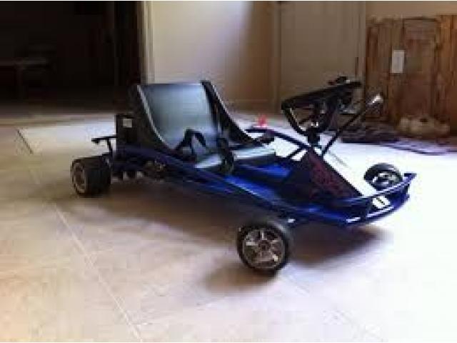 carro electrico karting razor driftter nuevo - 2/4