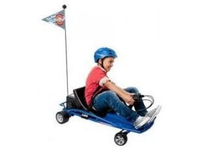 carro electrico karting razor driftter nuevo - 4/4