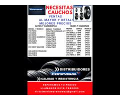 CAUCHOS COMPASAL NUEVOS AL MAYOR Y DETAL