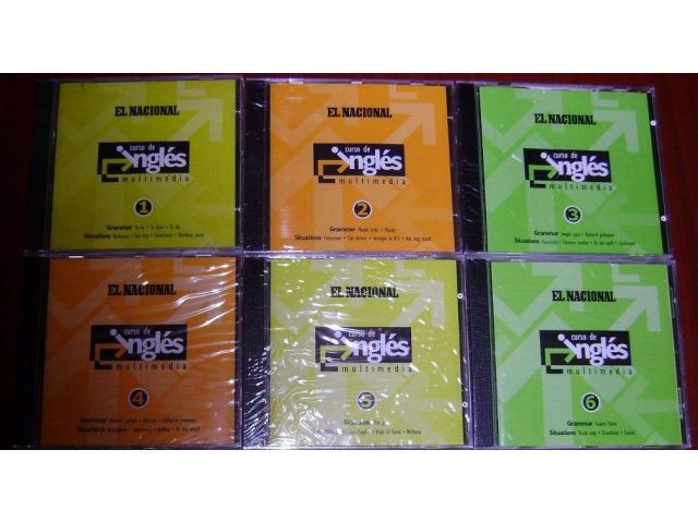 CURSO DE INGLES EN CDs  (NUEVO) - 1/1