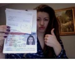 Compre documentos de calidad, pasaportes, tarjetas de identificación, Dl, certificados