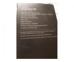 Samsung S 8 Negro