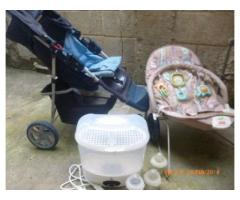 vendo coche, silla mededora fisher price mas esterilizador - Imagen 2/6