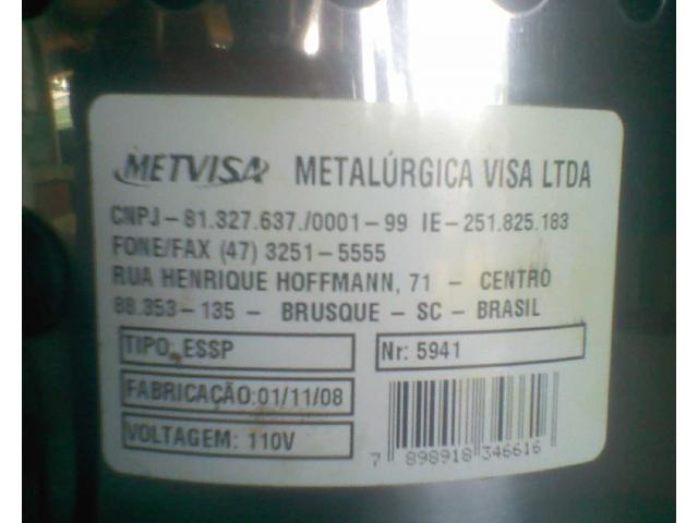 Exprimidor De Jugos, Naranja, Limón (eléctrico 110v) Metvisa - 4/6