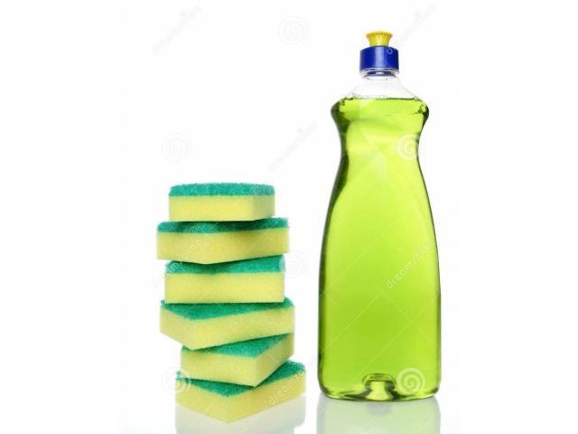 Lavaplatos, Jabón líquido, cloro, shampoo - 1/3