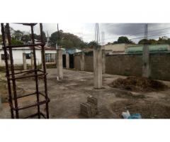 Vendo terreno con proyecto en construcción
