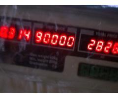 peso de 40 kls  nuevo  5 digitos