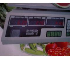 peso de 40 kls  nuevo  5 digitos - Imagen 2/2