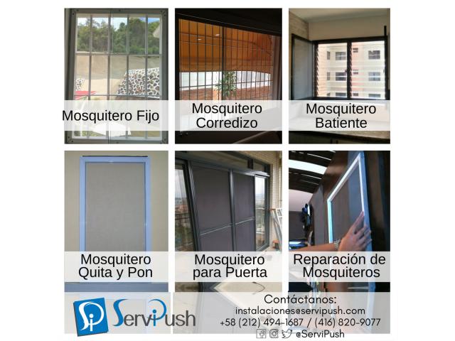Mosquiteros Instalación Y Reparación Para Ventanas Y Puertas - 2/6