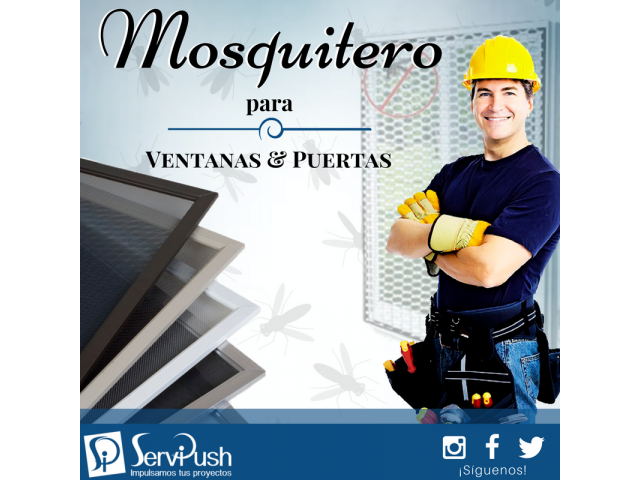 Fabrica De Mosquiteros Para Ventanas, Puertas Y Balcones - 1/6