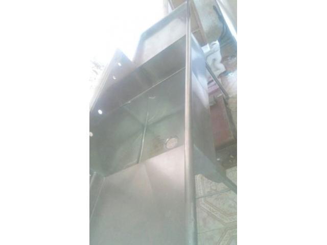 Fregadero Industrial Dobl Tina Y Doble Escurridor Acero - 2/4