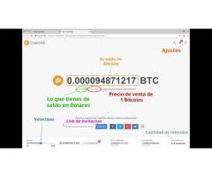 Gana Dólares y Bitcoin Facilmente desde tu Computadora