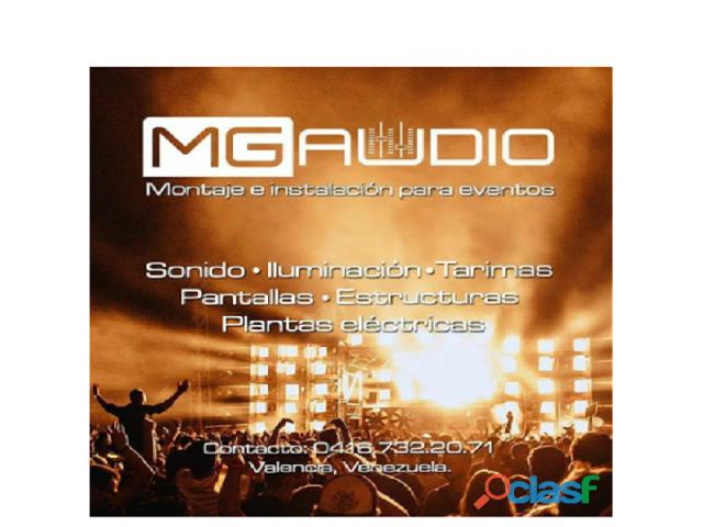 MONTAJE E INSTALACION DE EVENTOS - 1/1