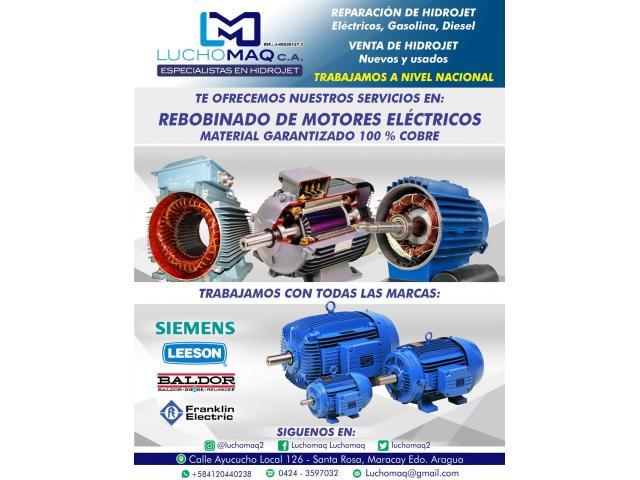 REBOBINADO DE MOTORES EN LUCHOMAQ - 1/3