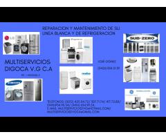 VENTA DE REPUESTOS Y SERVICIO TECNICO PARA LINEA BLANCA Y DE REFRIGERACION