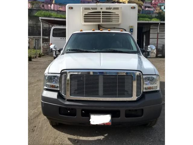 en venta camión ford Triton 2009 NUEVO  con cava y thermo  king NUEVOS - 1/6