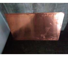 Lamina de Cobre 1 mm x 60 x 1 metro