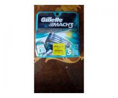 Hojillas Mach 3 Gillette.