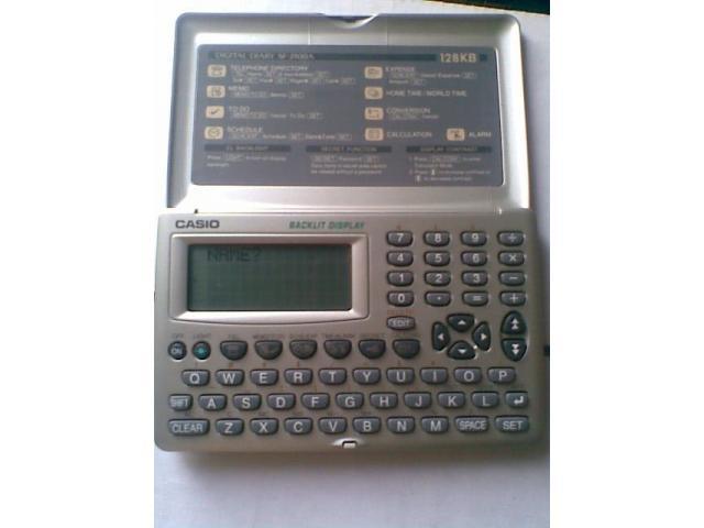 Agenda Electrónica Casio Sf-3900asr-w 128kb - 1/6