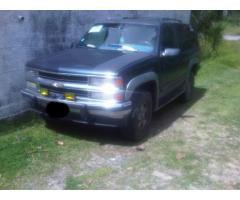 vendo chevrolet grand blazer 93 automatica 8cl 4x4 a carburacion tbi