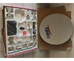 Kit De Antena Satelital Cantv Con Decodificador Para Tv