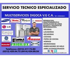 TECNICOS ESPECIALISTAS EN REPARACION DE LINEA BLANCA Y DE REFRIGERACION