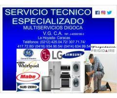 CENTRO DE SERVICIO TECNICO DE LINEA BLANCA Y EQUIPOS DE REFRIGERACION
