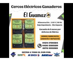 Cerca Electrica Ganadera Impulsor Energizador 70km