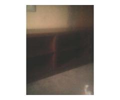 Demostrador de madera para oficina o negocio