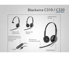 Headset plantronics blackwire c310