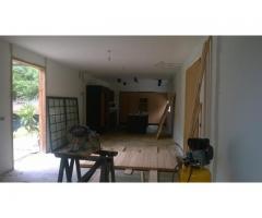 casa en la Suiza en obra