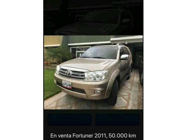 EN VENTA FORTUNER 2011 COMO NUEVA 50MIL KM AUTOMATICA 4X2  NO HAGO CAMBIOS - 2/6