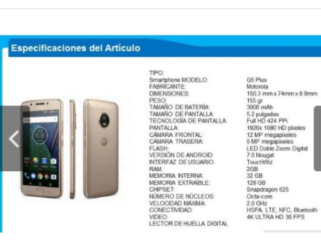 Motorola G5 Plus (Reparar o Repuesto) - 4/4