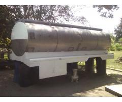 tanque cisterna de acero inoxidable