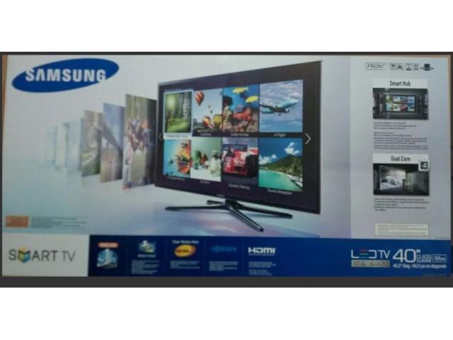 Samsung Smart Tv, 40 Pulgadas, 3d, Serie 6 con wifi y procesador dual core. - 1/4